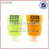 new design cosmetic tubes clear plastic test tube packaging