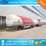 New Design Hot sale 50000L Fuel Tank semi-trailer oil tanker trailer for charter for sale