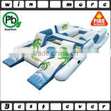 Giant 8 Person Inflatable Raft Pool Tropical Tahiti Ocean Floating Island Huge                                                                         Quality Choice                                                     Most Popular