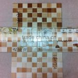 Building material full set ceramic digital tartan design wall tiles