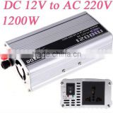 1200W WATT DC 12V to AC 220V Portable Car Power Inverter Adapter Charger Converter Transformer