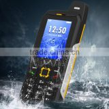 242-Three Sim GSM & CDMA Two Models Mobile Phone Real Waterproof IP68 Level Button Style Power Bank 3200mAh