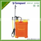 16L high quality hand pump fertilizer water irrigation sprayer plastic water pressure sprayer