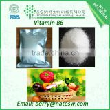 GMP factory supply best quality Vitamin B6/VB6/Pyridoxine HCL CAS no. 58-56-0 in low price