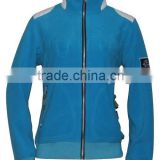 Ladies' soft shell flight fleece jacket for fashion clothing(FL9110A)