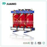 11kv 2000 kva fire-proof epoxy resin cast dry type transformer distribution transformador with vacuum bushing