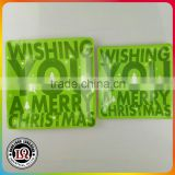 Disposable Wholesale Christmas Square Paper Plate                                                                         Quality Choice