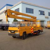 JMC scissor lift platform truck 4*2 scissor lift trucks sale cheap lifted trucks for sale