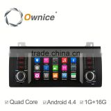 Ownice Wholesales Quad Core Android 4.4 car headunit placement for BMW E39 M5 built in wifi support rear camera