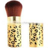 glitter base animal print nylon hair make up Kabuki brush