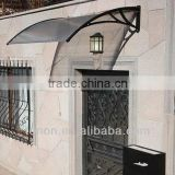 New style! roofing material building material canopy price roof polycarbonate awnings AG16 canopy china supplier