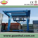 Easy installation double beam gantry container truck crane