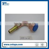 20491 metric connection O-ring seal fitting fluid connectors 90 degree elbow fittings hydraulic fittings