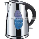 1.8L stainless steel Electric kettle with LED light
