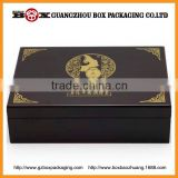 2015 factory price high quality antique cosmetic gift set packaging box