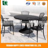 Modern design garden chairs and tables good quality 6 seats rattan bar stool sets wholesale