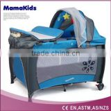 Portable Foldable Baby Playpen Travel Cot Bed Bassinet Playpen