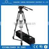Professional video camera tripod Secced Reach Plus 6 tripod with ground spreader loading 65kg