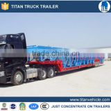 Heavy duty car hauling trailer for transporting small cars
