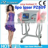 Best quality laser therapy instrument for weight loss and body shaping / laser surgery lipo laser equipment