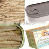 Canned Sardine Fillet in Vegetable Oil