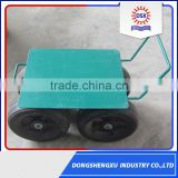 China Wholesale Market Industrial Mobile Storage Flat Panel Tool Cart Wheel Rubber Wheel 2.50-4
