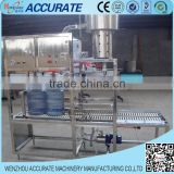 manual type 5 gallon filling and capping machine