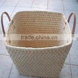 Best selling products laundry basket,wicker&corn husk laundry basket bulk buy from china