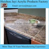Wholesale Clear Acrylic Plastic customized placemats and coasters