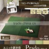 Japanese TATAMI mat made in Japan made of rush grass IGUSA Japanese mats