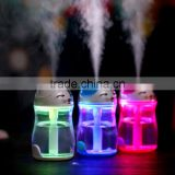 UCHOME Cartoon Mist Maker Cat Style LED Light Humidifier