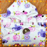 China wholesale Pattened cotton kids bathrobes