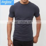 men's elastic compression training, running clothes, tight speed, dry sports T-shirt