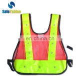 Reflective hot selling cheap useful led lighted safety vest