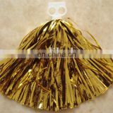 metallic cheer pom poms