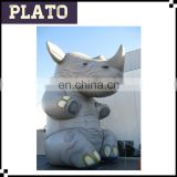 Giant inflatable Rhinoceros inflatable animal model for outdoor advertising
