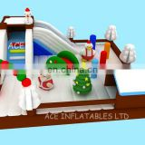 New Designed Christmas Inflatable Playground