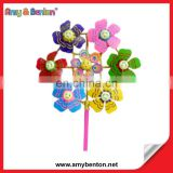 High Quality Colorful Plastic Windmill From China
