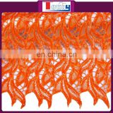 Special New fashion nigeria guipure lace fabric with sequence