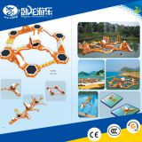 inflatable water park, water park equipments, inflatable floating water park