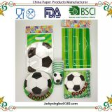 2018 FIFA World Cup Russia Disposable Tablewares Party Pack Soccer Ball Party Supplies