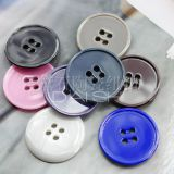Ceramic coat buttons with  4 holes