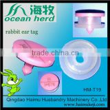 high quality plastic rabbit ear tag for rabbit
