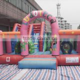 Hot sale inflatable funcity slide park inflatable play children park inflatable park combo jump house