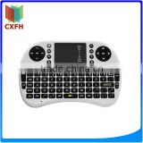 High Quality i8 support lithium battery Built-in 2.4G wireless receiver Mini Wireless Keyboard
