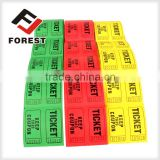 180g Redemption ticket for arcade game machine, printing roll arcade ticket                                                                         Quality Choice