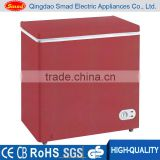 R134a Portable Single solid door Top Open Color mini Chest Freezer