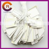 factory 300g white card blank hangtag labels custom jewelry tag