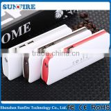 Factory wholesale 20000mah mobile power bank, flashlight dual usb 20000mah slim power bank, wallet power bank 20000mah