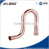 J9020 NSF,UPC 1/2'' factory price copper pipe fittings, copper p-trap fitting for plumbing